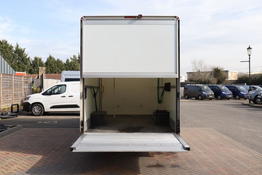 RENAULT TRUCKS MASTER LL35 DCI 130 L3 BUSINESS LWB LOW LOADER PLATFORM CAB WITH TAIL LIFT  (13904) - 12214 - 37