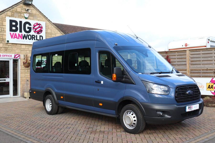 FORD TRANSIT 460 TDCI 155 L4H3 17 SEAT BUS HIGH ROOF DRW RWD - 10252 - 3