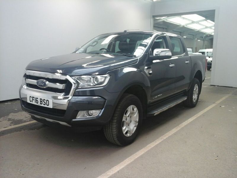 FORD RANGER TDCI 200 LIMITED 4X4 DOUBLE CAB WITH ROLL'N'LOCK TOP - 9855 - 1