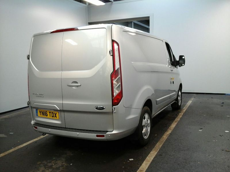 FORD TRANSIT CUSTOM 270 TDCI 125 L1 H1 LIMITED SWB LOW ROOF FWD - 9210 - 2