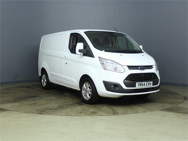 FORD TRANSIT CUSTOM 290 TDCI 155 L1 H1 LIMITED SWB LOW ROOF FWD - 7106 - 1