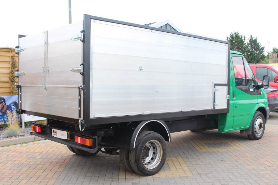 FORD TRANSIT 350 TDCI MWB SINGLE CAB NEW ALLOY ARBORIST TIPPER - 6565 - 14