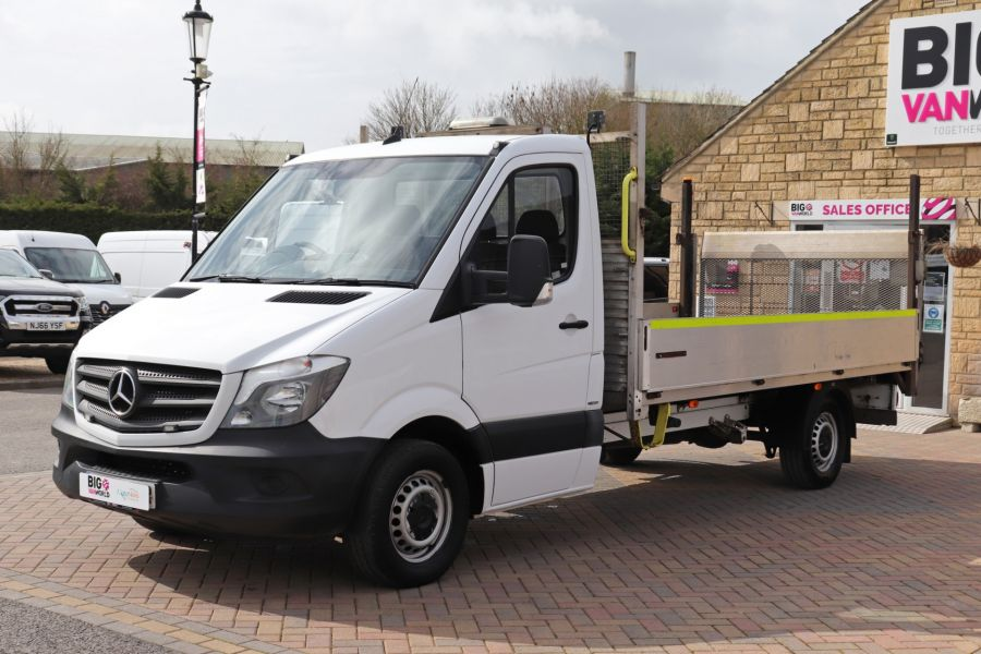 MERCEDES SPRINTER 314 CDI 140 LWB SINGLE CAB ALLOY DROPSIDE WITH TAIL LIFT  (14002) - 12361 - 12