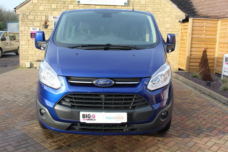 FORD TRANSIT CUSTOM 290 TDCI 125 L2 H1 LIMITED DOUBLE CAB 6 SEAT CREW VAN LWB LOW ROOF FWD  - 7113 - 9