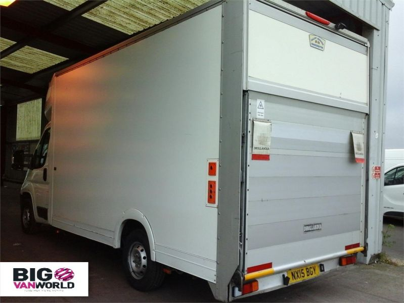 PEUGEOT BOXER 335 HDI 130 L3 LWB LOW LOADER LUTON WITH TAIL LIFT - 9513 - 3