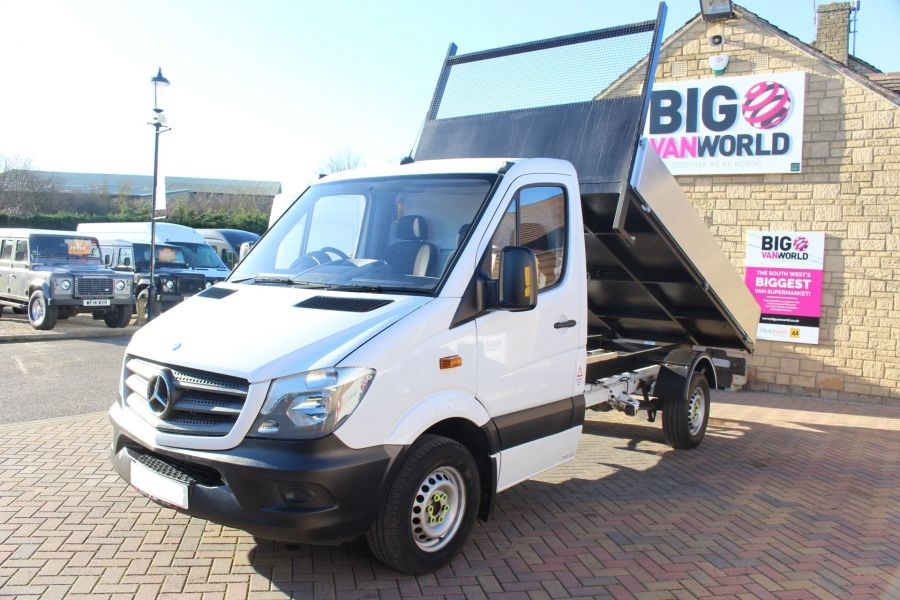 MERCEDES SPRINTER 313 CDI MWB SINGLE CAB NEW BUILD ALLOY TIPPER - 8728 - 4