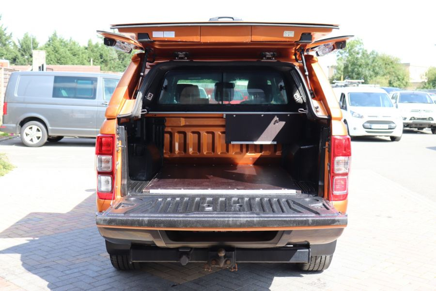 FORD RANGER WILDTRAK TDCI 200 4X4 DOUBLE CAB WITH TRUCKMAN TOP - 9538 - 43