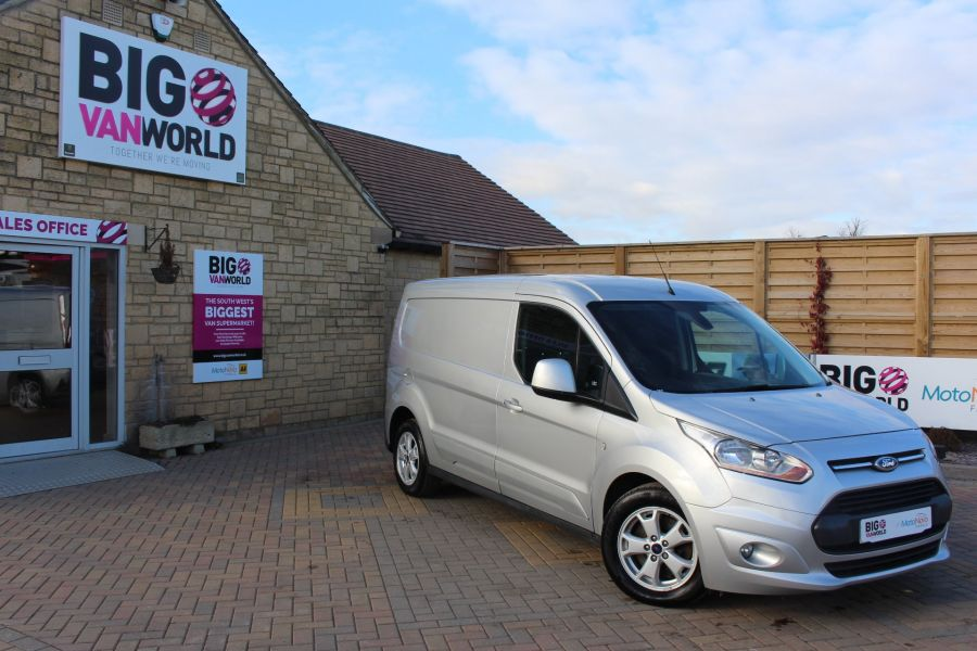 FORD TRANSIT CONNECT 240 TDCI 115 LIMITED L2 H1 LWB - 7241 - 1