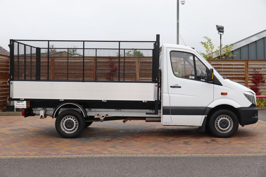 MERCEDES SPRINTER 313 CDI 129 MWB SINGLE CAB NEW BUILD CAGED TIPPER  - 10825 - 6