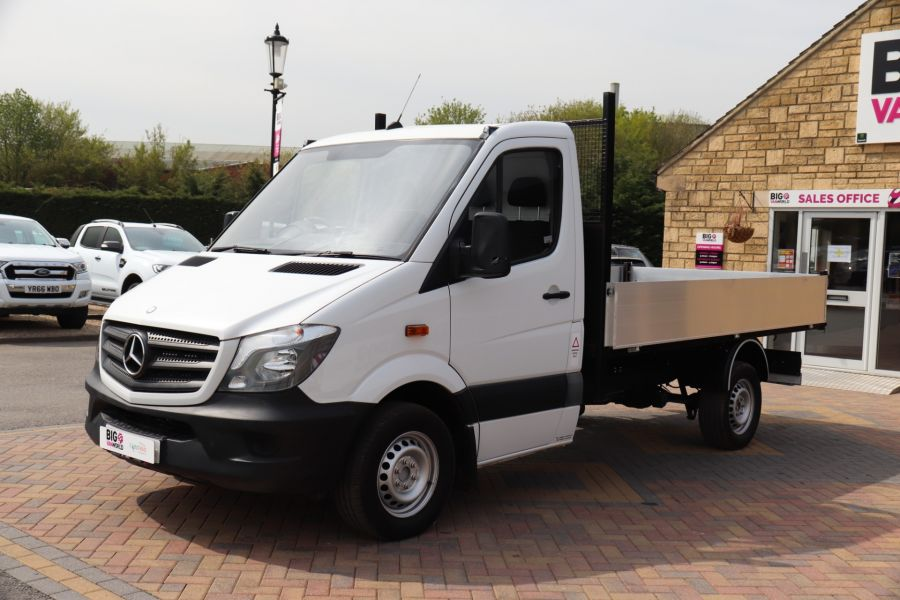 MERCEDES SPRINTER 313 CDI 129 MWB SINGLE CAB NEW BUILD ALLOY TIPPER - 10678 - 19