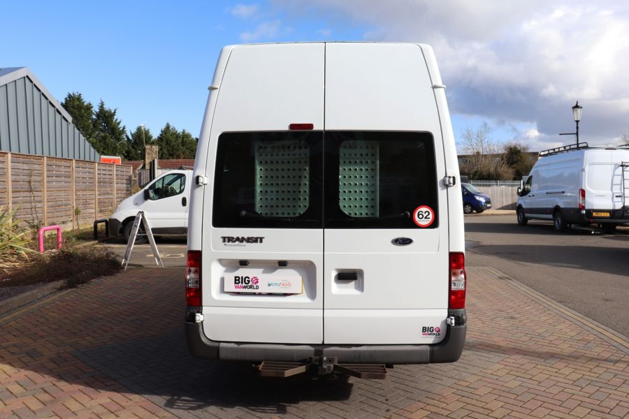 FORD TRANSIT 430 TDCI 135 EL LWB 17 SEAT BUS HIGH ROOF WITH WHEELCHAIR ACCESS RAMP DRW RWD - 10401 - 7