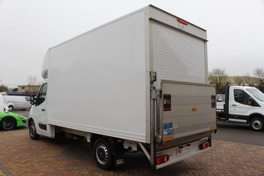 RENAULT MASTER LL35 DCI 125 BUSINESS LWB LUTON WITH TAIL LIFT  - 6880 - 6