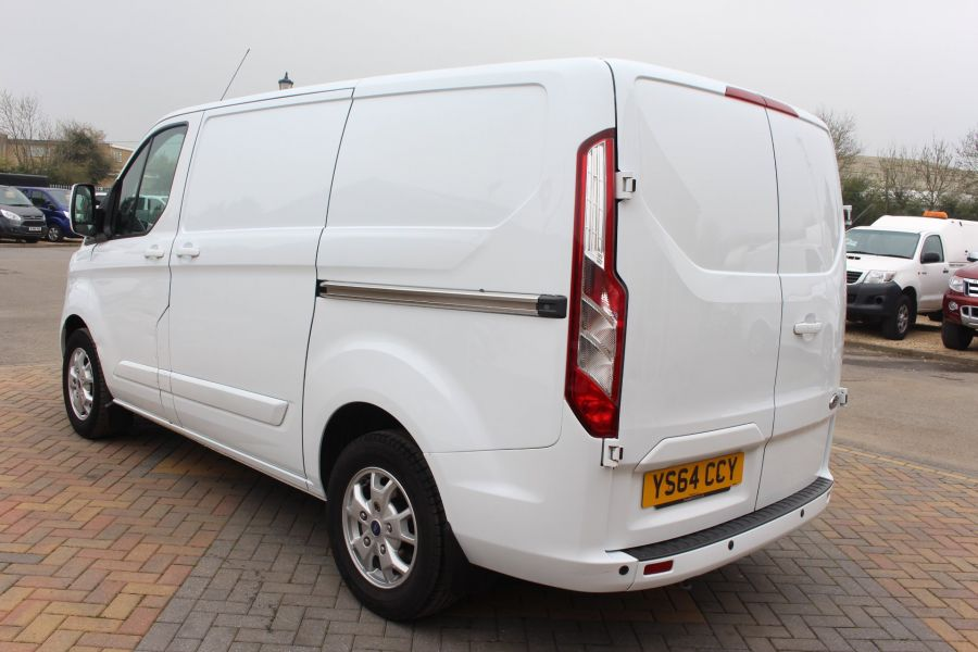 FORD TRANSIT CUSTOM 290 TDCI 155 L1 H1 LIMITED SWB LOW ROOF FWD - 9074 - 7