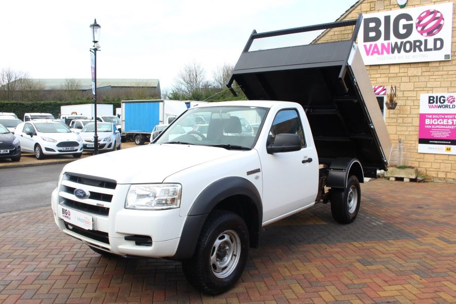 FORD RANGER 4X4 TDCI REGULAR CAB ALLOY TIPPER - 7054 - 8