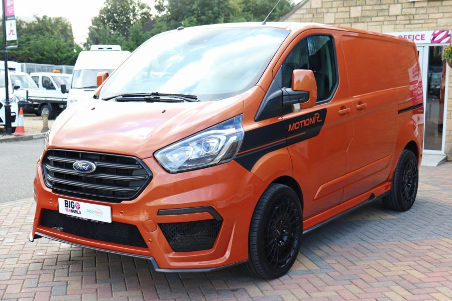 FORD TRANSIT CUSTOM 280 TDCI 130 L1H1 MOTION R LIMITED - 10195 - 10