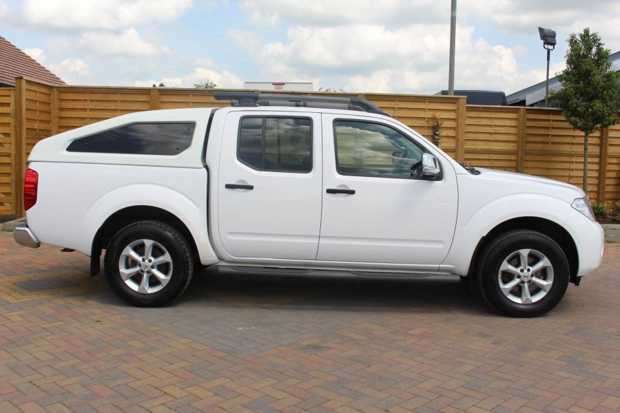 NISSAN NAVARA DCI 190 TEKNA CONNECT 4X4 DOUBLE CAB WITH SPORT TRUCKMAN TOP - 6296 - 4