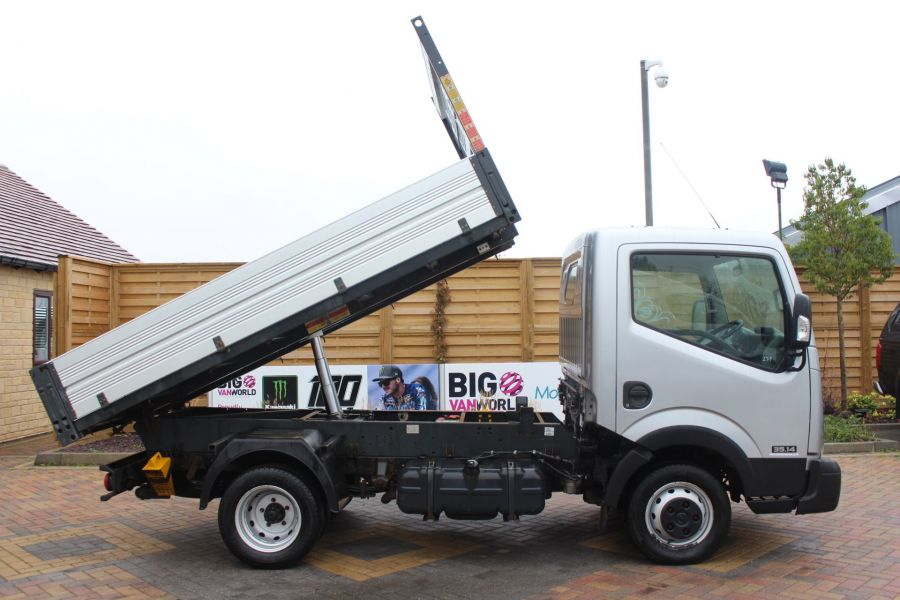 NISSAN NT400 CABSTAR DCI 35.14 SWB ALLOY TIPPER - 6520 - 3