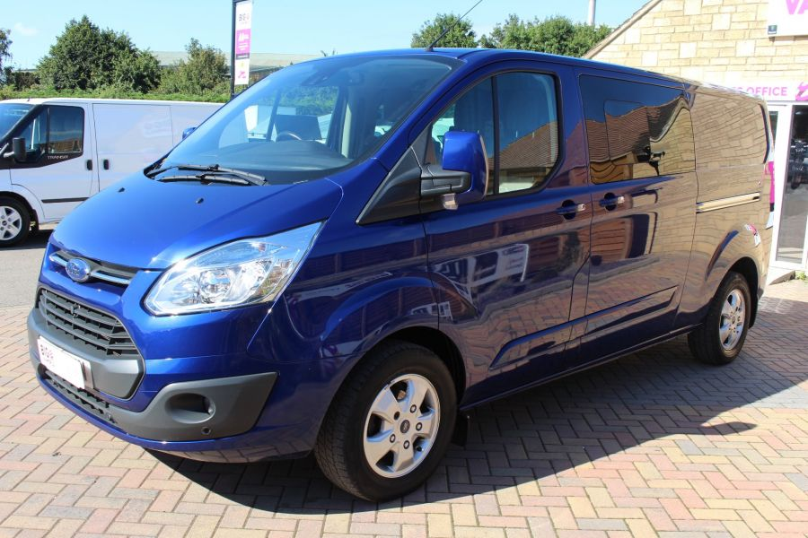 FORD TRANSIT CUSTOM 290 TDCI 155 L2 H1 LIMITED DOUBLE CAB LWB LOW ROOF - 6509 - 8