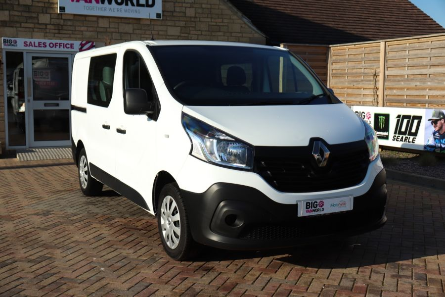 RENAULT TRAFIC SL27 DCI 115 BUSINESS SWB DOUBLE CAB 6 SEAT CREW VAN LOW ROOF  - 10282 - 4