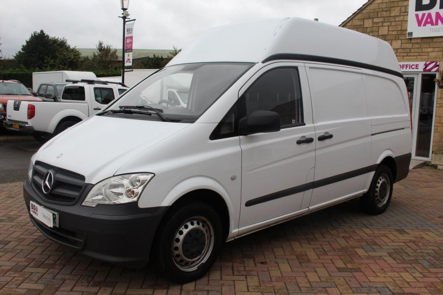 MERCEDES VITO 116 CDI 163 BHP LWB HIGH ROOF - 6716 - 8