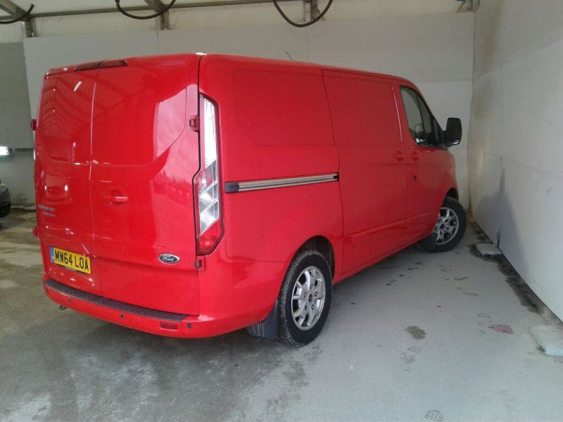 FORD TRANSIT CUSTOM 290 TDCI 125 L1H1 LIMITED SWB LOW ROOF FWD - 10096 - 2