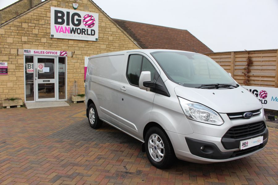 FORD TRANSIT CUSTOM 270 TDCI 155 LIMITED L1 H1 SWB LOW ROOF FWD - 8552 - 3