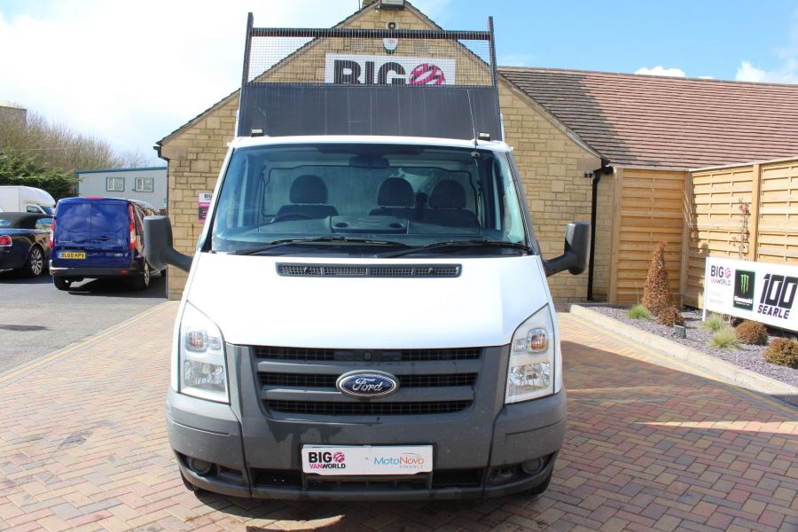 FORD TRANSIT 350 TDCI 100 MWB SINGLE CAB ALLOY TIPPER - 7589 - 8