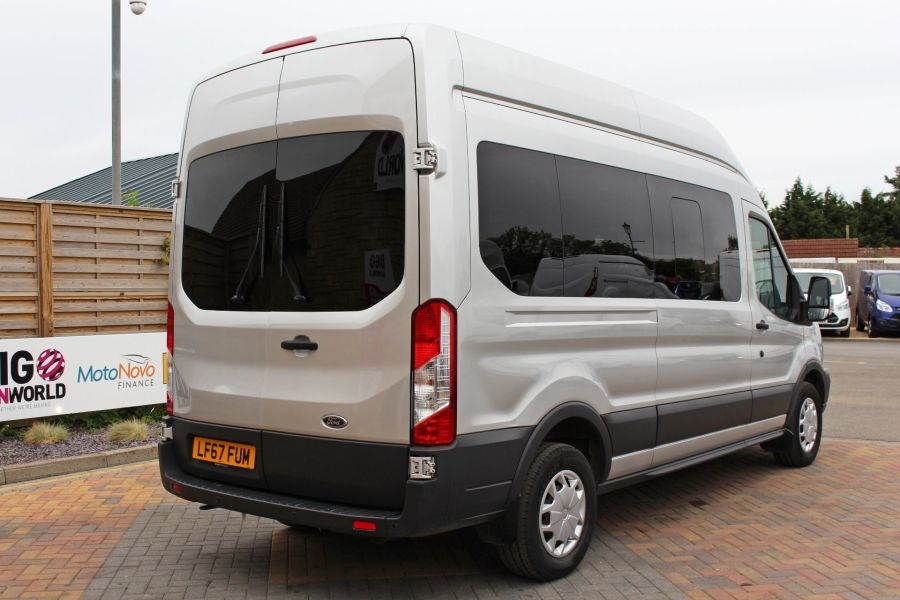 FORD TRANSIT 410 TDCI 155 L3 H3 TREND 15 SEAT BUS LWB HIGH ROOF RWD - 9126 - 5
