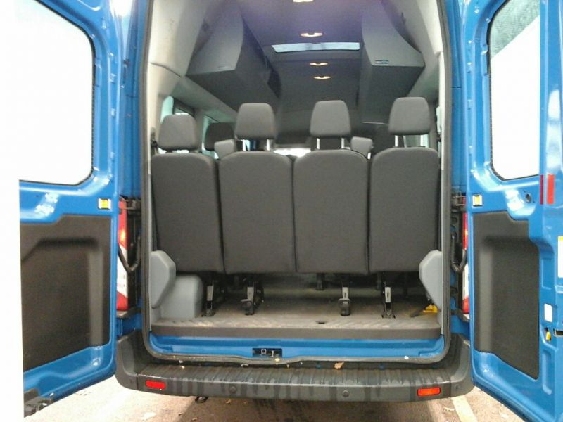 FORD TRANSIT 460 TDCI 125 L4 H3 TREND 17 SEAT BUS HIGH ROOF DRW RWD - 8682 - 4
