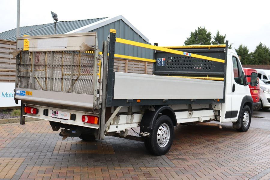 CITROEN RELAY 35 HEAVY HDI 150 ENTERPRISE L4 'ONE STOP' ALLOY DROPSIDE WITH TAIL LIFT - 10284 - 6
