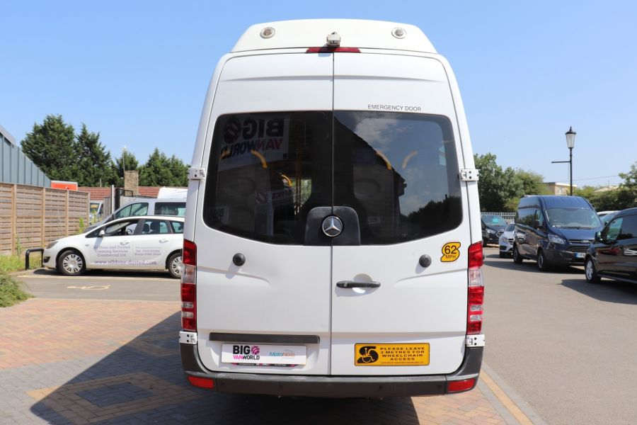 MERCEDES SPRINTER 513 CDI 129 XLWB EXTRA HIGH ROOF 15 SEAT BUS WITH WHEELCHAIR ACCESS - 9801 - 7