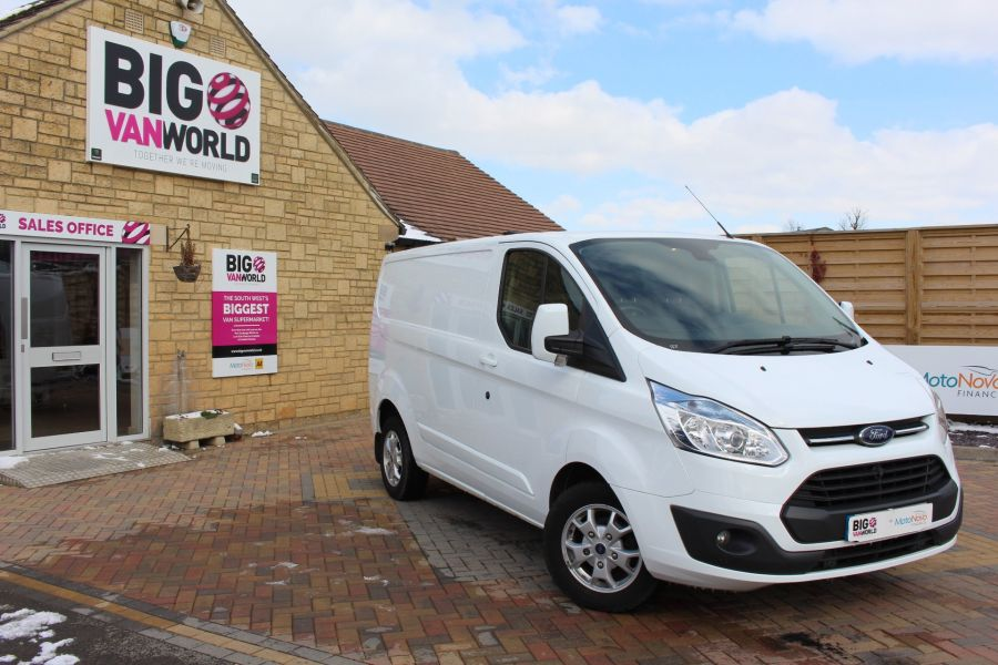 FORD TRANSIT CUSTOM 270 TDCI 125 L1 H1 LIMITED SWB LOW ROOF FWD - 7475 - 1