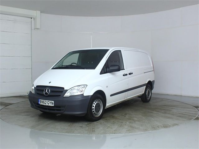MERCEDES VITO 116 CDI 163 COMPACT SWB LOW ROOF - 7571 - 5
