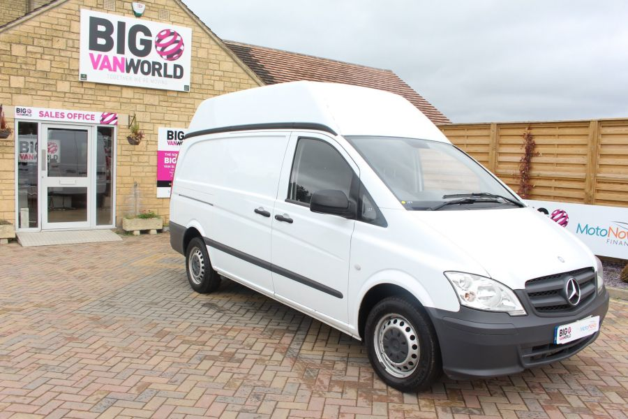 MERCEDES VITO 116 CDI 163 BHP LWB HIGH ROOF - 6716 - 2