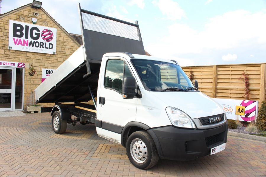 IVECO DAILY 35S11 MWB SINGLE CAB 11FT 6IN ALLOY TIPPER - 5178 - 3