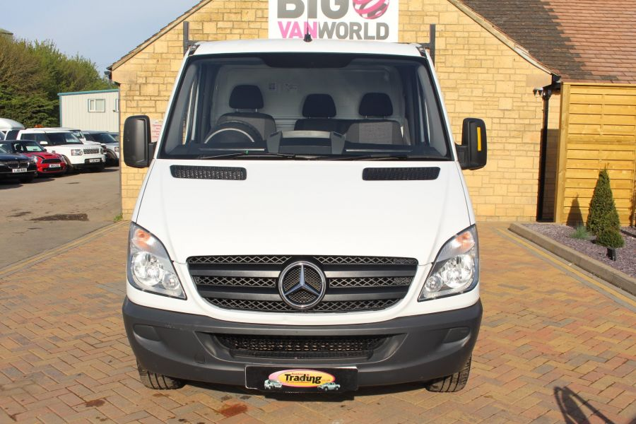 MERCEDES SPRINTER 313 CDI MWB SINGLE CAB ALLOY TIPPER - 6105 - 6