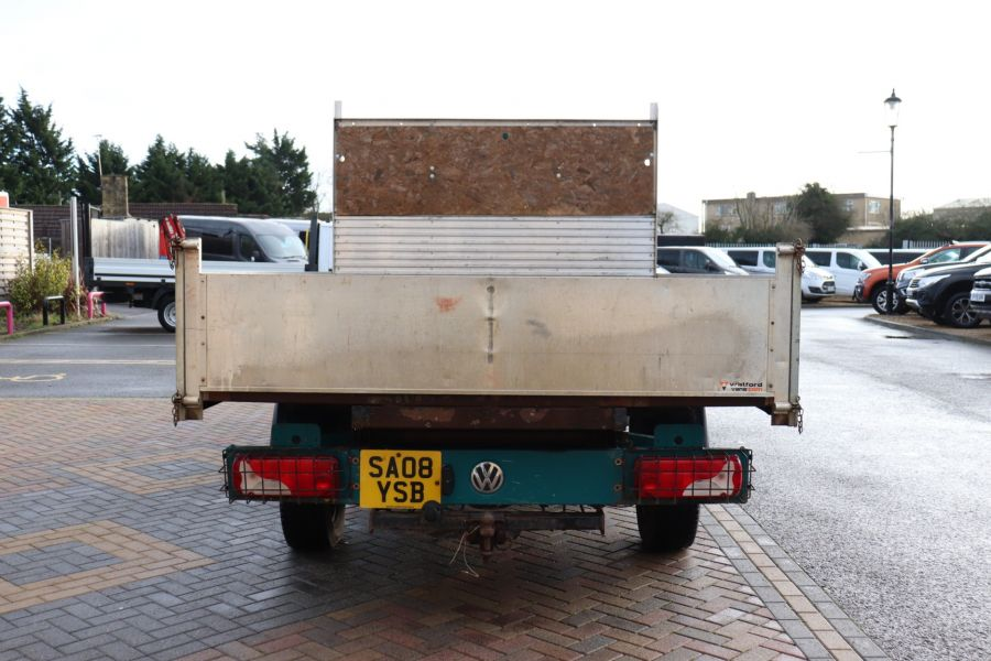 VOLKSWAGEN CRAFTER CR35 TDI 109 LWB 7 SEAT DOUBLE CAB ALLOY TIPPER - 9967 - 17