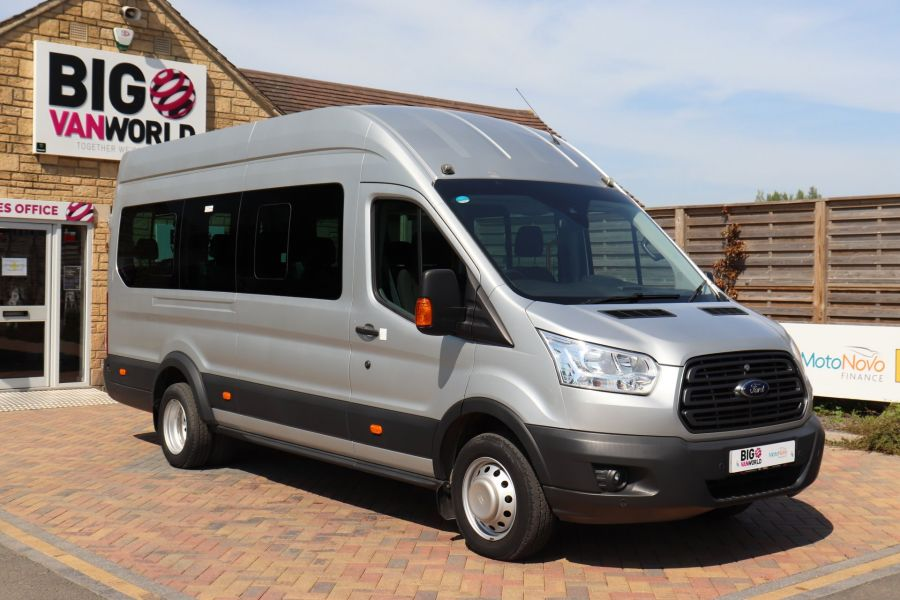 FORD TRANSIT 350 TDCI 155 L4H3 TREND 17 SEAT BUS HIGH ROOF DRW RWD  (13895) - 12177 - 3