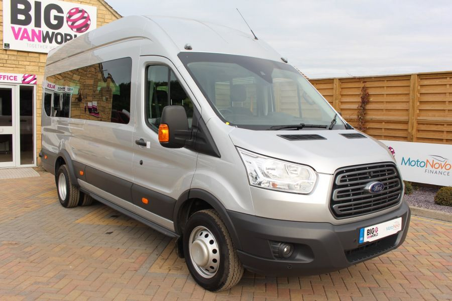 FORD TRANSIT 460 TDCI 125 L4 H3 TREND LWB HIGH ROOF 17 SEAT BUS RWD - 6563 - 3