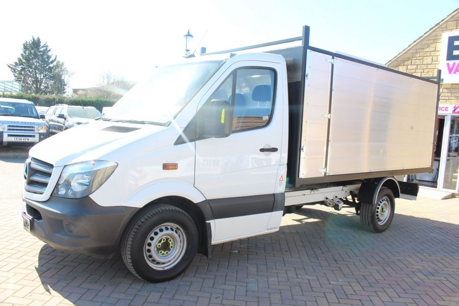 MERCEDES SPRINTER 313 CDI 129 MWB SINGLE CAB NEW BUILD ARBORIST ALLOY TIPPER - 9307 - 17
