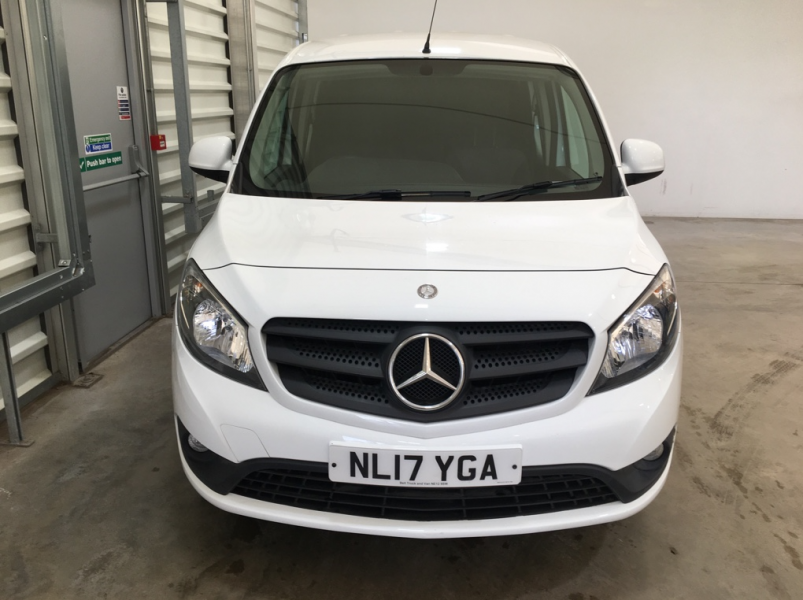 MERCEDES CITAN 109 CDI 90 BLUEEFFICIENCY DUALINER XLWB DOUBLE CAB 5 SEAT CREW VAN - 11253 - 9