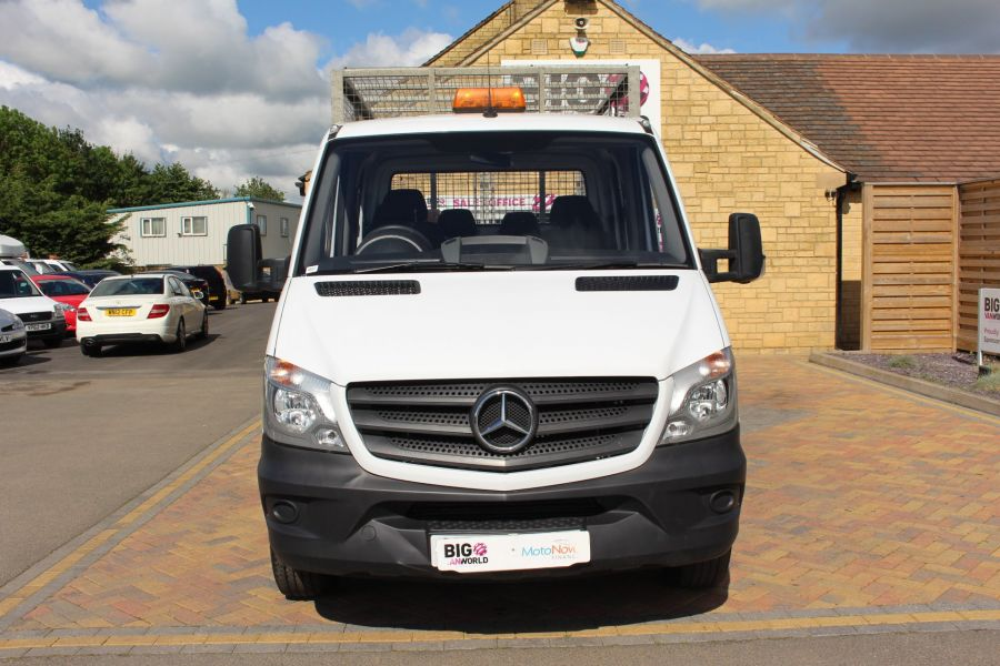 MERCEDES SPRINTER 314 CDI 140 DOUBLE CAB 6 SEAT CAGED ALLOY TIPPER - 9302 - 11