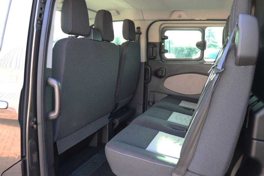FORD TRANSIT CUSTOM 290 TDCI 130 L1H1 LIMITED DOUBLE CAB 6 SEAT CREW VAN SWB LOW ROOF - 10123 - 36