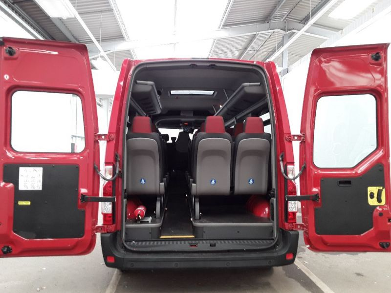 RENAULT MASTER LM39 DCI 165 BUSINESS ENERGY LWB 17 SEAT MINIBUS MEDIUM ROOF - 11353 - 5