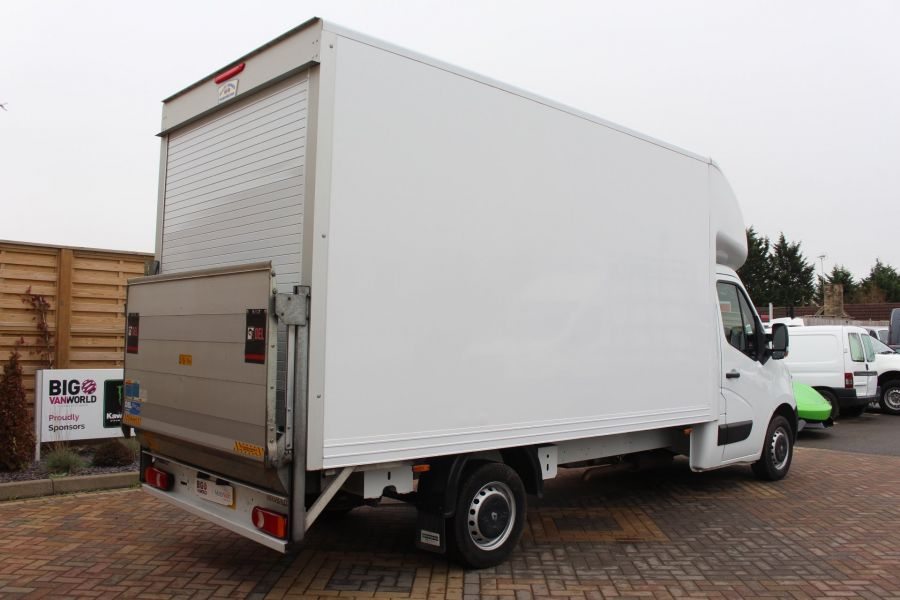 RENAULT MASTER LL35 DCI 125 BUSINESS LWB LUTON WITH TAIL LIFT  - 6880 - 4