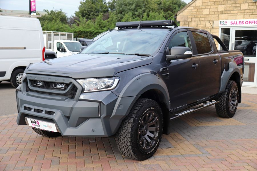 FORD RANGER TDCI 200 LIMITED EDITION 4X4 M-SPORT DOUBLE CAB WITH ROLL 'N' LOCK TOP - 9615 - 9