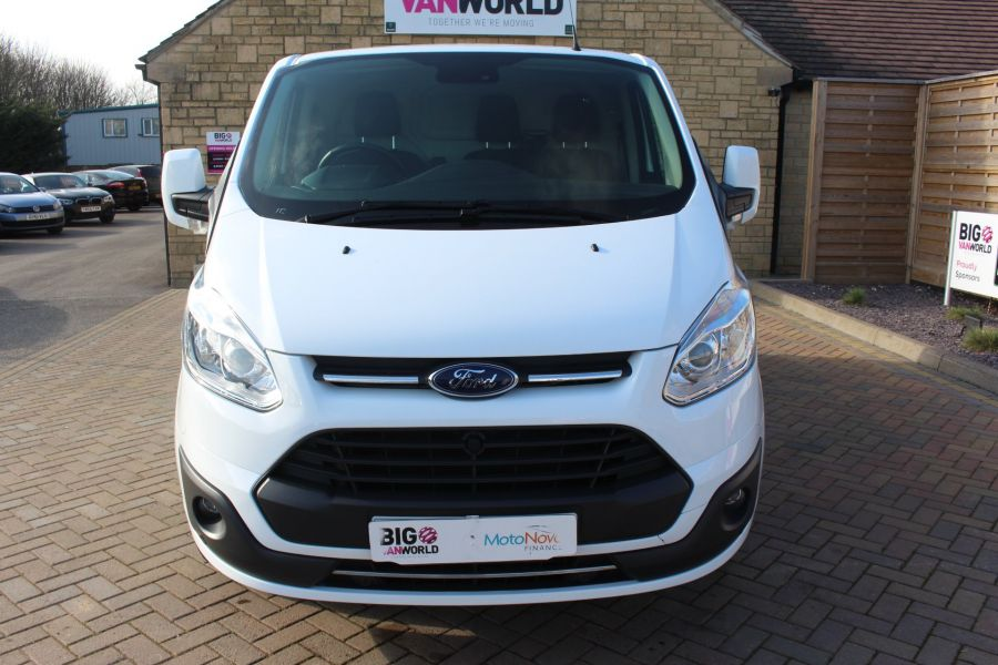 FORD TRANSIT CUSTOM 290 TDCI 170 L1 H1 LIMITED SWB LOW ROOF - 8843 - 9