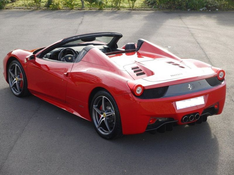 FERRARI 458 SPIDER DCT LHD UK REGISTERED - 2983 - 9