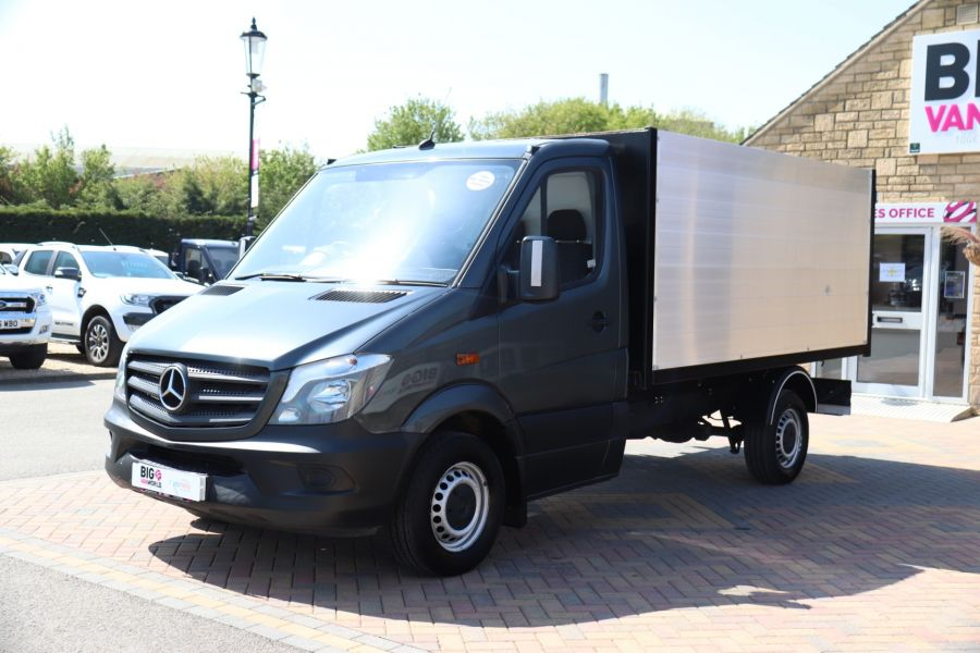 MERCEDES SPRINTER 313 CDI 129 SINGLE CAB NEW BUILD HIGH SIDED ALLOY TIPPER - 9672 - 20