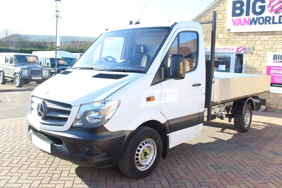 MERCEDES SPRINTER 313 CDI MWB SINGLE CAB NEW BUILD ALLOY TIPPER - 8729 - 9